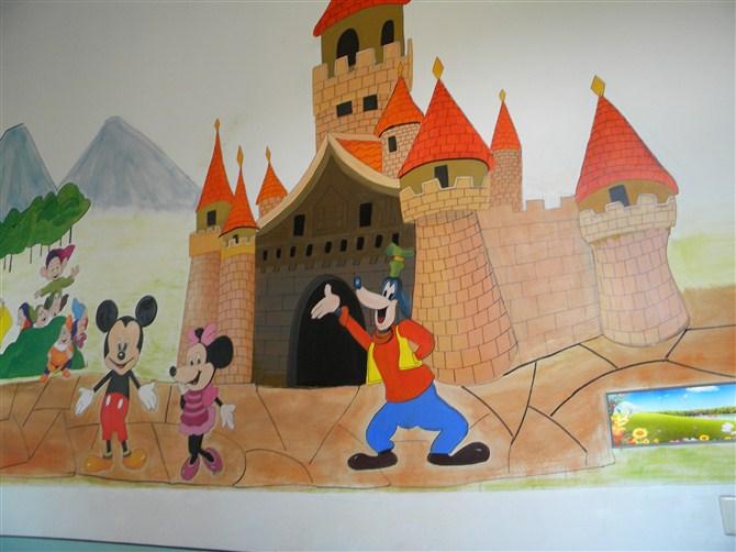 鄭州幼兒園彩繪 - 別墅壁畫,酒店壁畫,壁畫公司,配畫