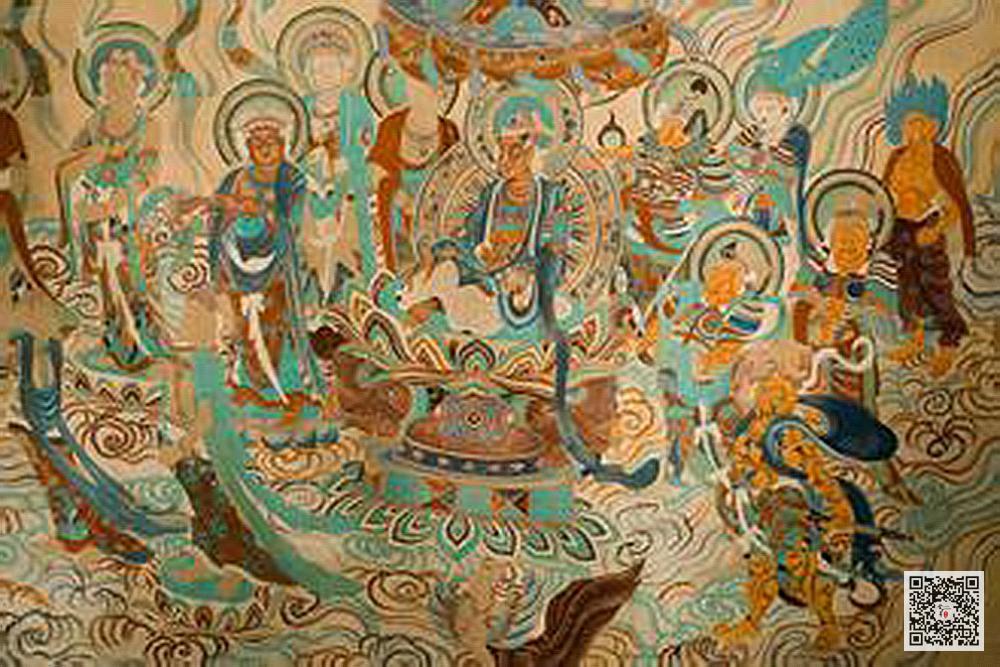 中国古典壁画敦煌壁画欣赏_博物馆壁画(8)图片
