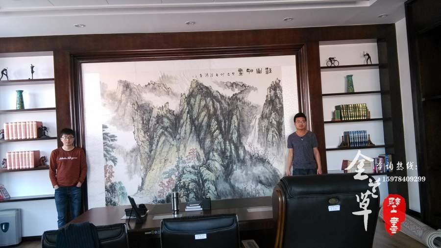 首页 手绘壁画 办公室壁画   分享到: 公司办公室壁画方案,报价及效果