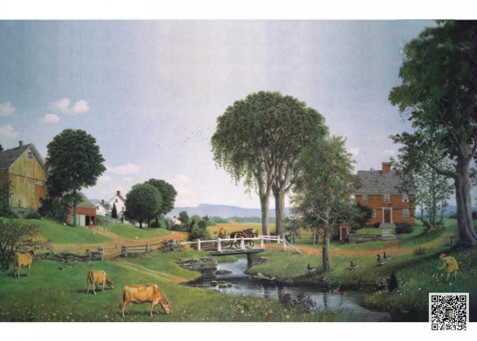 com 分享到:       欧式别墅配画风景油画精选,有这些别墅油画装饰你
